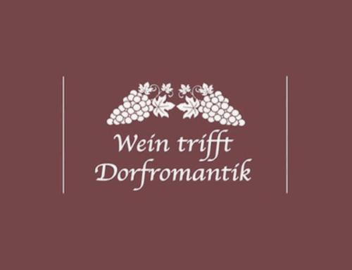 Wein trifft Dorfromantik – Weinfest am 07.09.2019